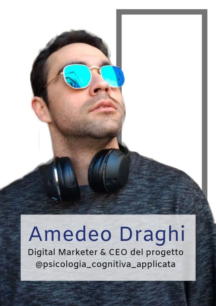 Amedeo Draghi - Autore di sull'orlo della psicologia