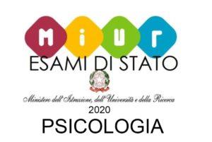 Esame di Stato Psicologia 2020: MIUR pubblica le date