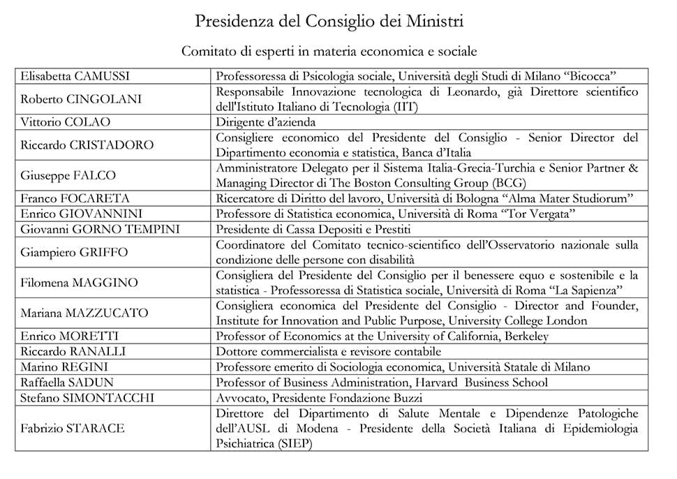 task-force-2-coronavirus-presidenza-Consiglio-Ministri