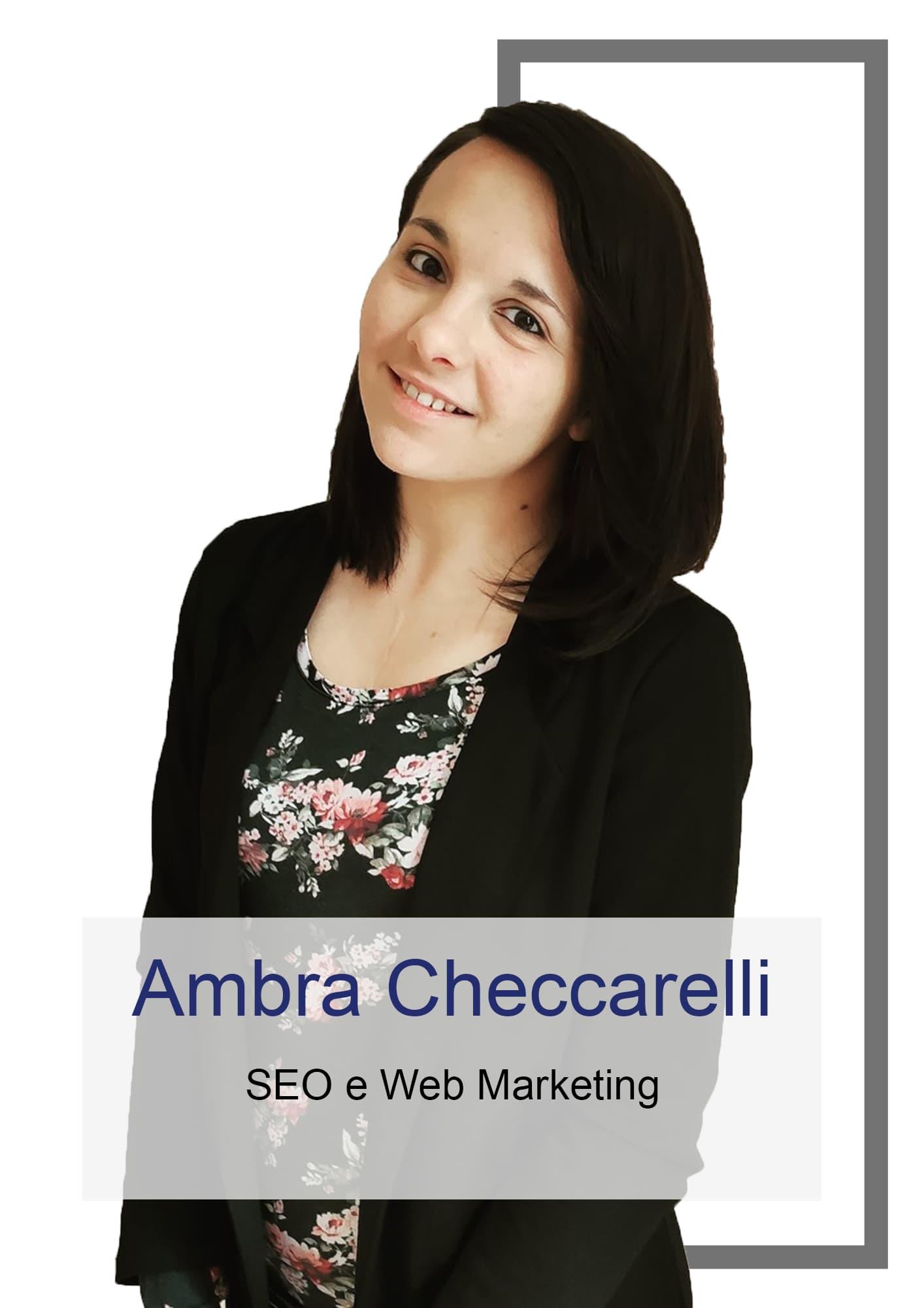 Ambra Checcarelli - SEO e Web Marketer