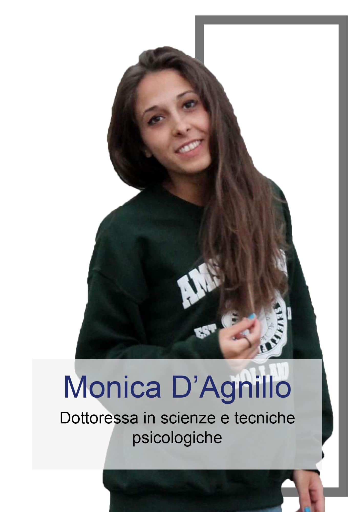Monica D'Angillo - Autrice di Sull'Orlo della Psicologia