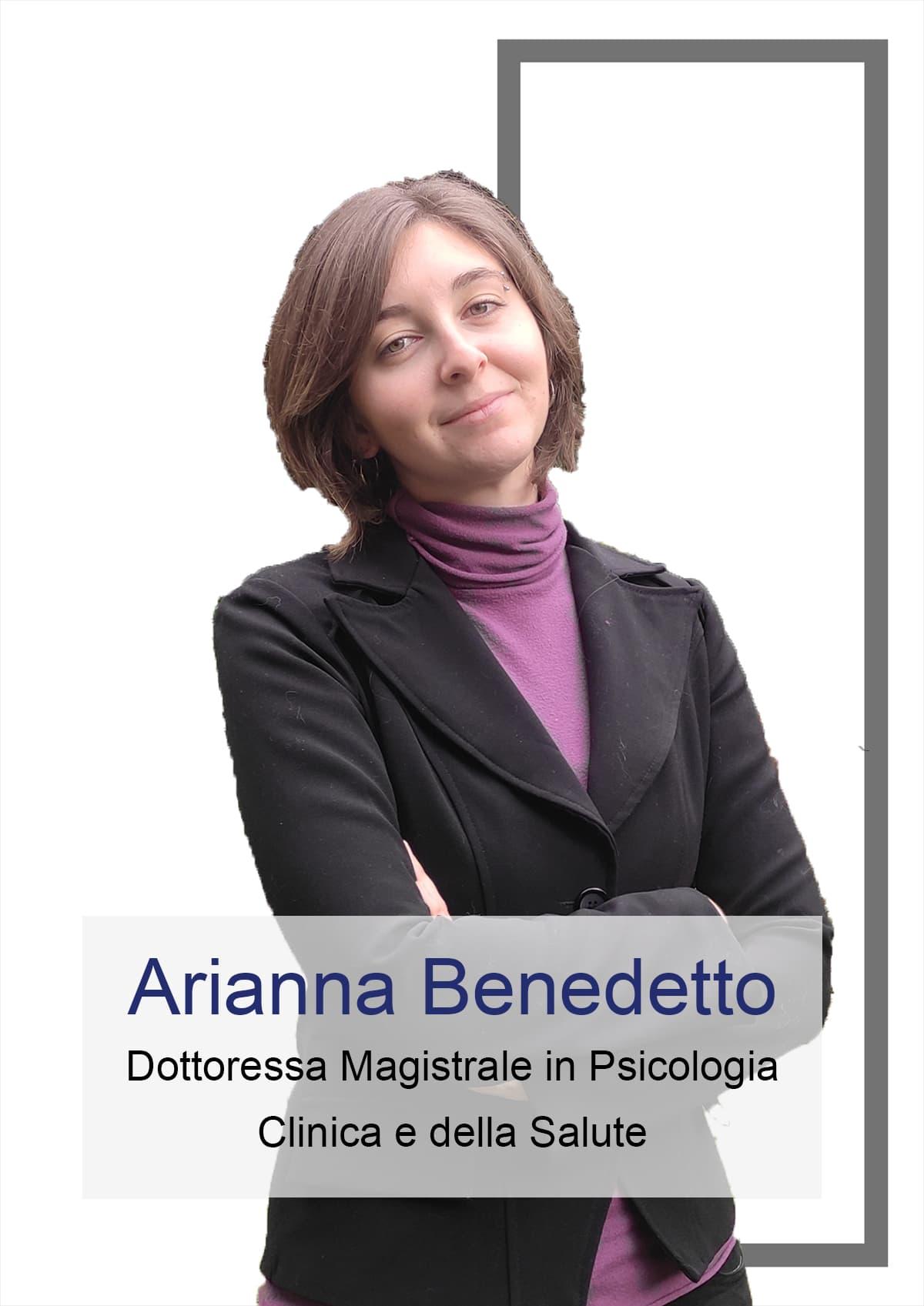 Arianna Benedetto - Psicologa e autrice del Blog di Sull'Orlo della Psicologia